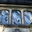 Deflected windows in Irene's bedroom before restoration