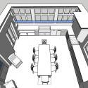 3D schematic of new kitchen addition