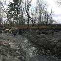 Dredging the biggest lagoon pond